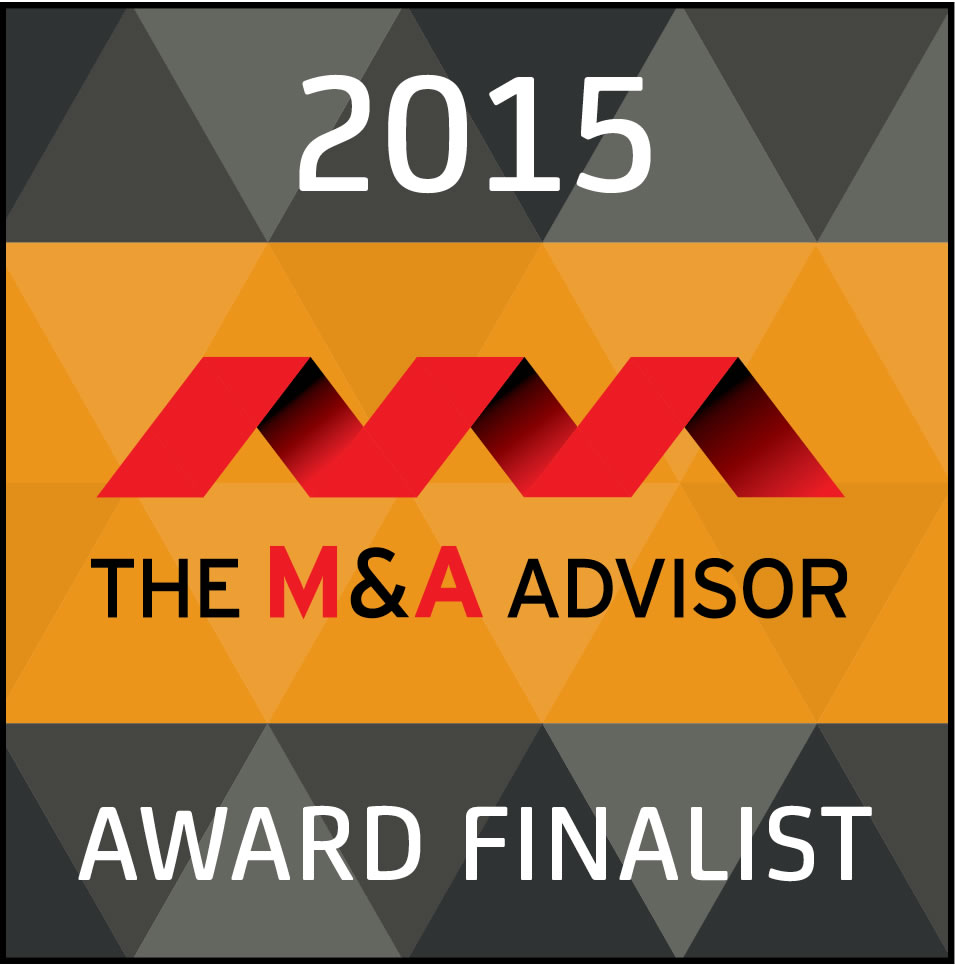 2015 The M&A Advisor Award Finalist