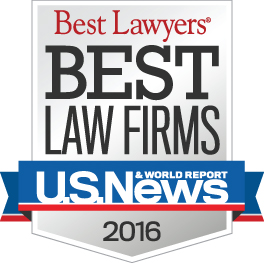 Best Law Firms 2016 badge